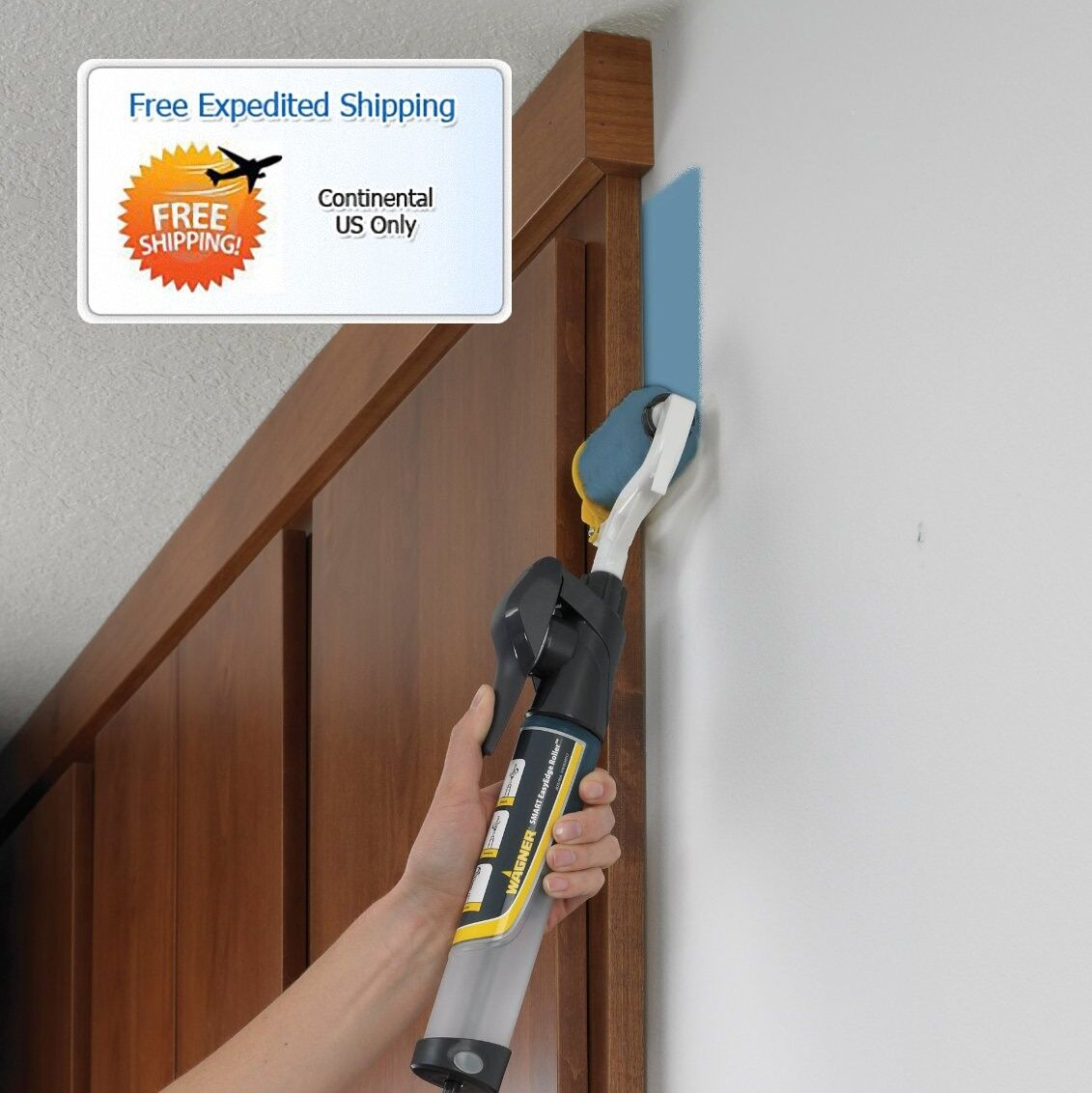 Edge paint roller painting tools windows doors trim for Wall painting utensils