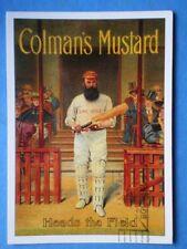 POSTCARD  COLMAN'S MUSTARD HEADS THE FIELD