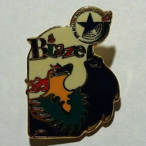 Paralympic Mascot Blaze Pin Sports Memorabilia Atlanta Summer Paralympics Olympic Memorabilia