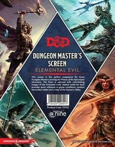 Dungeons-amp-Dragons-D-amp-D-5th-Ed-Temple-of-Elemental-Evil-Dungeon-Master-039-s-Screen