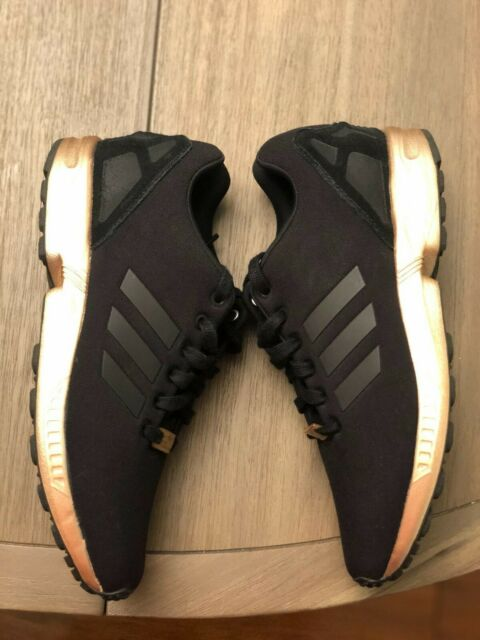 adidas zx flux copper noir et bronze