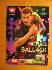 Adrenalyn XL Michael Ballack limited Edition Champions League Panini 2011/12