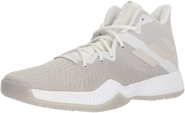 c6d9ad25519c Adidas Mad Bounce  B27856  Men s Basketball Shoe SIZE 14 Chalk Pearl White  NEW