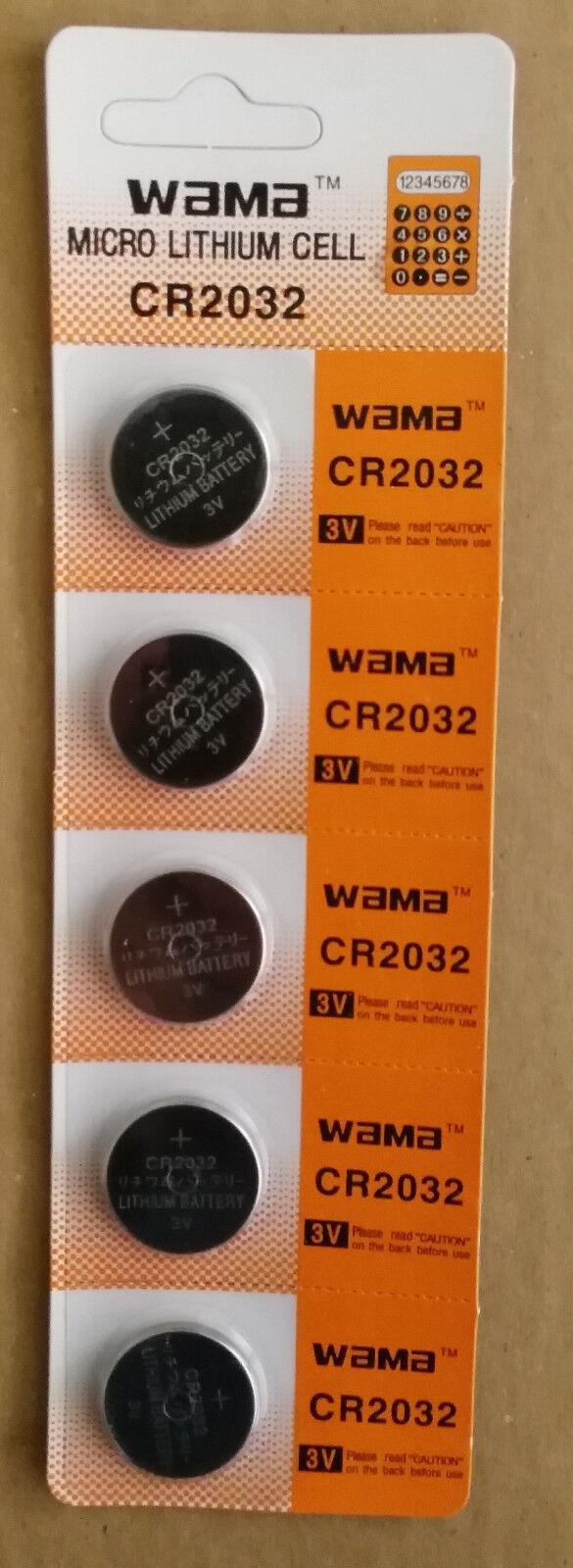 100 pcs CR2032 Lithium Batteries coin button cell wholesale