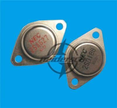 1pair New 2SA627//2SD188 A627//D188 NEC Encapsulation:TO-3 Transistors