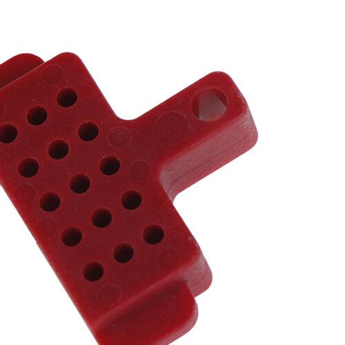 Plastic hydraulic disc brake bleed spacer block tool for hydraulic brake/_BE