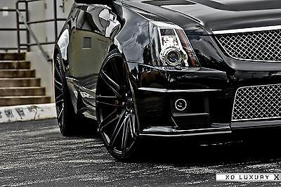 XO Luxury Milan 8,5&10x20 Felgen für Cadillac CTS V Coupe Deep Conave Design Neu
