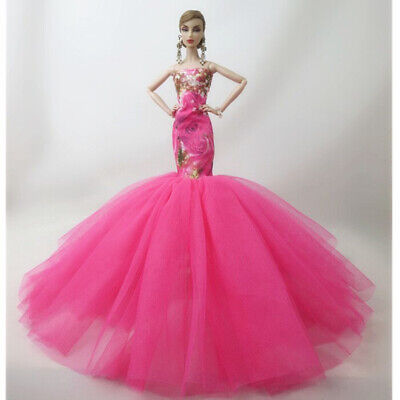 Fashion Party Princess Dress Wedding Clothes//Gown For 11.5 inch Doll #22