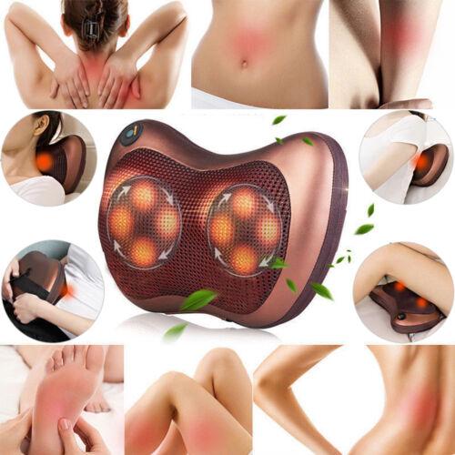 Massaggio Shiatsu Cuscino Massaggiatore Elettrico Termico Collo Cuscino MACCHINA Regno Unito *