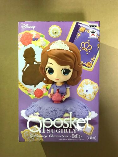 Q posket SUGIRLY Disney Characters Sofia Figure Normal Qposket BANPRESTO Japan