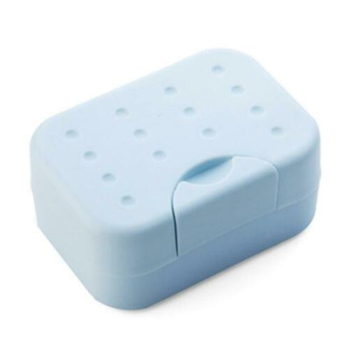 Travel Soap Dish Box Case Holder Container Wash Shower Home Bathroom BOB 0050
