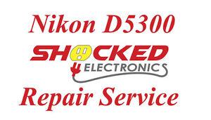NIKON D5300 Repair Service - Impact / Water Damage WE CAN FIX IT !