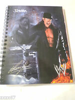 Wwe Undertaker School Notebook 100 Sheets With Mini Poster