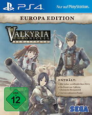 Valkyria Chronicles Remastered - Europa Edition (Sony PlayStation 4 Spiel, 2016)