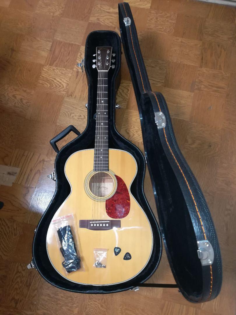 History HMG CN acoustic guitar Japan antique retro popular beautiful EMS F   S
