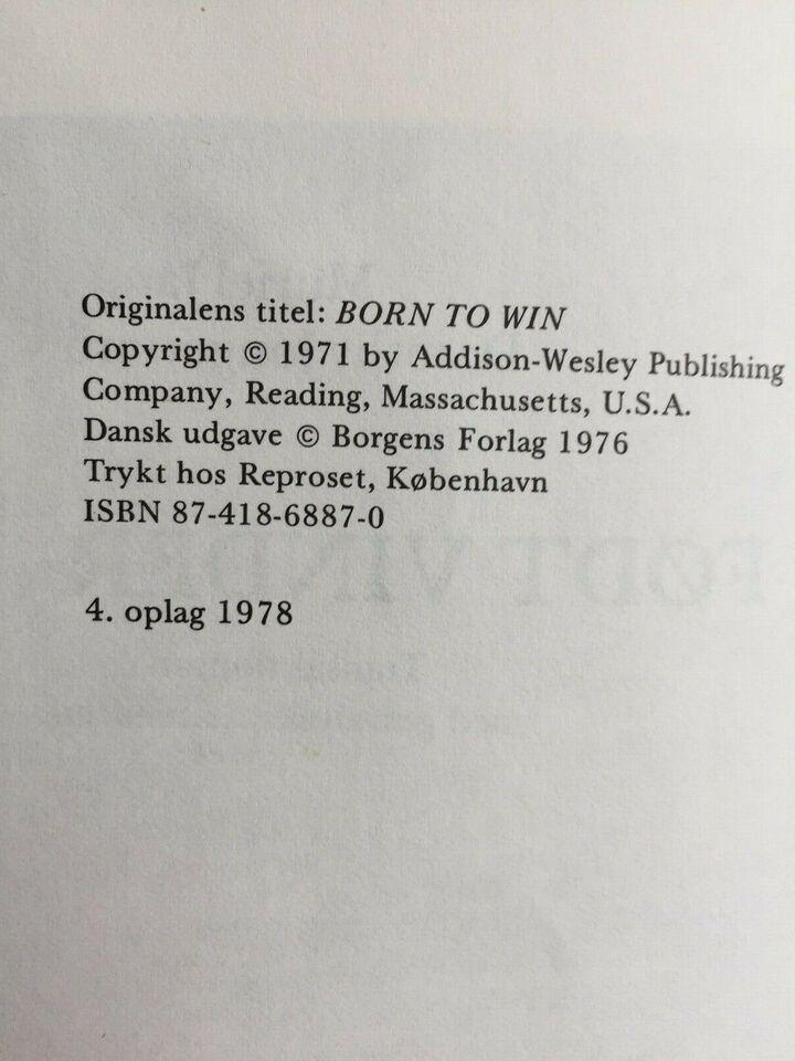 Født vinder, Muriel James Dorothy Jongeward, år 1978