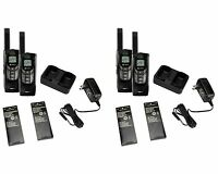 (4) Cobra Cxr-925 35 Mile 22 Channel Uhf/fm Noaa Two-way Radios Walkie Talkies on sale