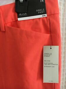 Helpful Summery A.n.a. Crop Ankle Pant Size 14 Nwt - Light Stretch