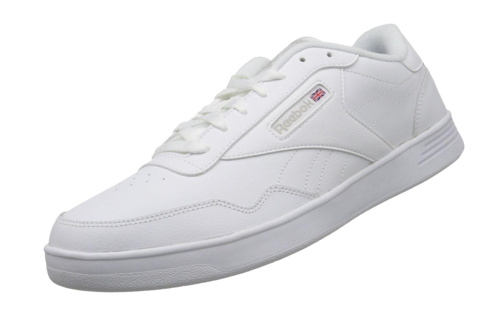 Reebok Men's Club Memt Classic Sneaker Us-white Steel 10.5 ... - FREE 2 Day Ship