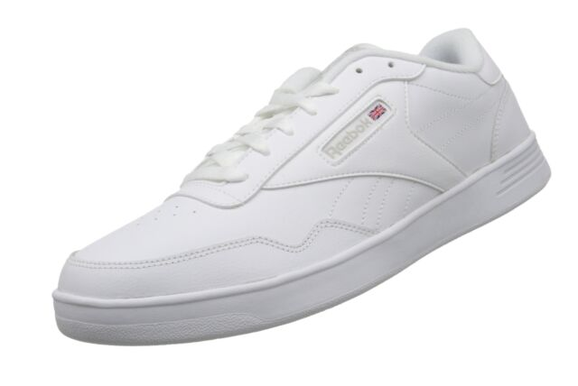 Reebok Mens Men s Club MEMT Wide 4e White   Steel 10.5 for sale ... 2a0f6112b