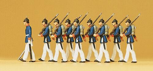 H0 Preiser 12186 Preußische Infanterie Paradeuniform
