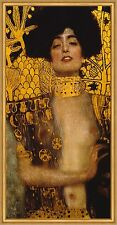Judith I Detailausschnitt Holofernes Femme Fatale LW Gustav Klimt A2 056