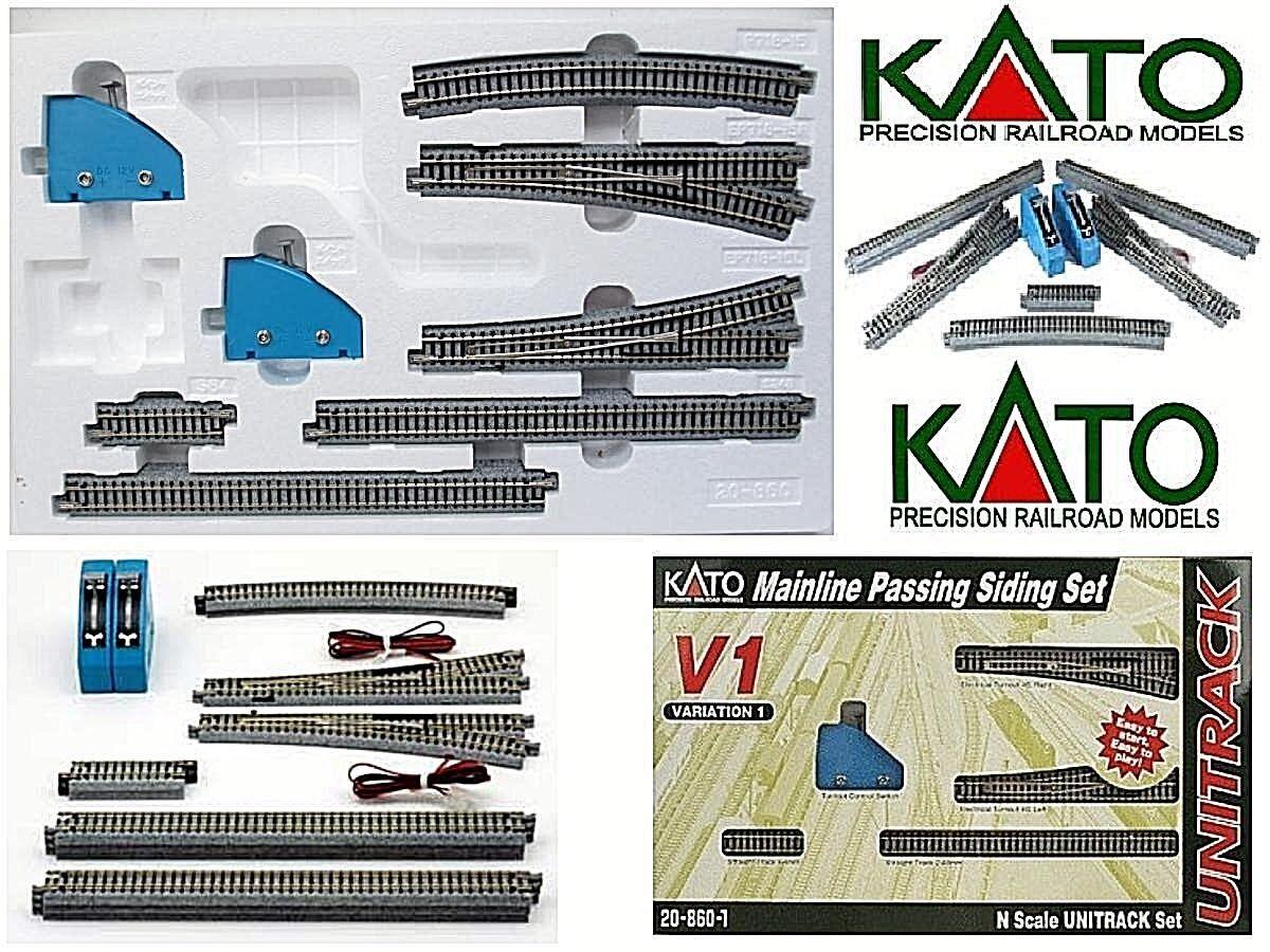 KATO 20-860 Starter-set V1 n.10 Titel2 Handel Elektro dx sx2 Befehle Leiter-n  | Deutschland Berlin