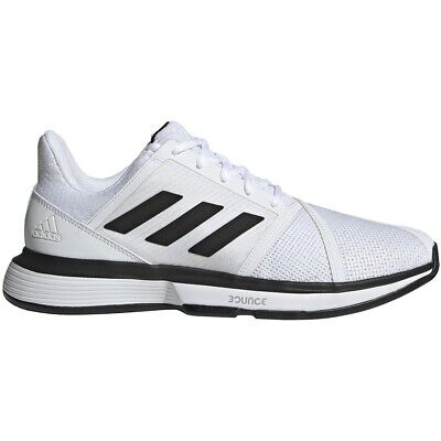 Mens Adidas CourtJam Bounce Wide White Tennis Athletic Court Shoe EE4119 9.5 14   eBay