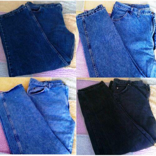 Men/'s Regular Classic Fit Medium Denim Blue Jeans Used Mens Pants ~ Pick One