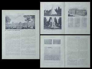 Appris La Construction Moderne -n°21-1920 - Madrid, Institut Francais, Andre Galeron