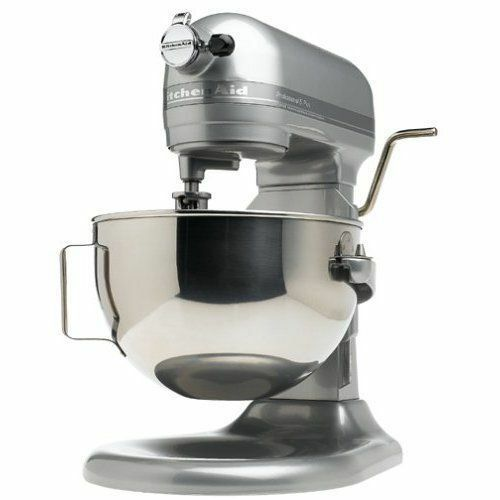 KitchenAid stand mixer 475-W 10-Vitesse 5-Quart Kg25hOXSL Argent Professionnel HD