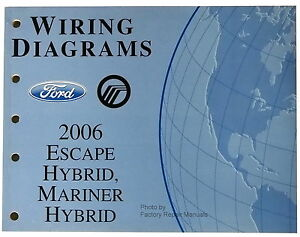 s l300 2006 ford escape & mercury mariner hybrid electrical wiring 2006 ford escape hybrid wiring diagram at n-0.co