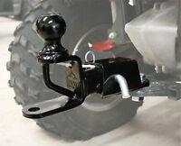 Yamaha Can-am Honda Universal Atv Utv Multi Trio Hitch W/ Receiver & 2 Ball