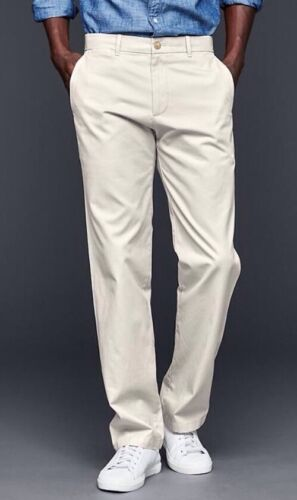 NWT Gap Classic Straight Fit Khakis 36x32 Fresh Praline