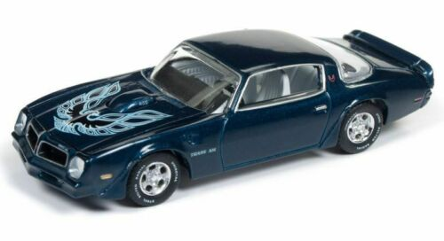 1976 Pontiac Firebird T//A   Blue **RR** Auto World Vintage Muscle 1:64 OVP