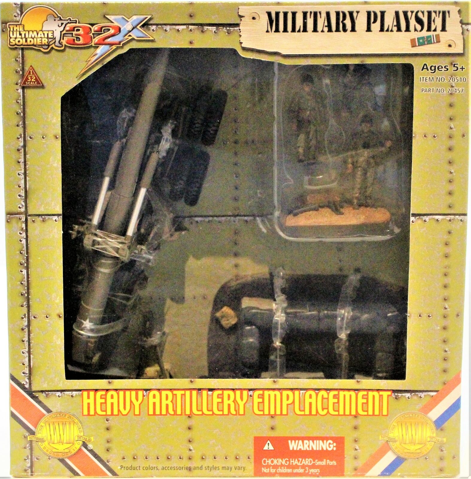 The Ultimate Soldier 1 32 Scale Heavy Artillery EmplaceSiet WWll 2007