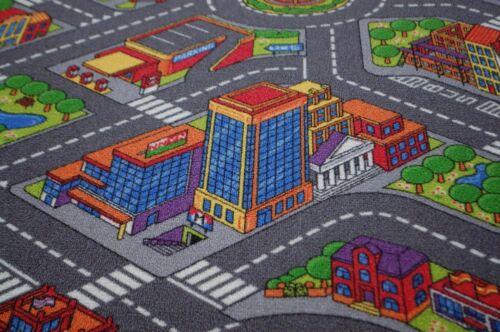 Road Carpet Children Play Carpet Citylight 160x200 CM