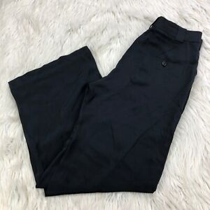 3-1-Phillip-Lim-Women-039-s-6-Black-100-Silk-Wide-Leg-Pants