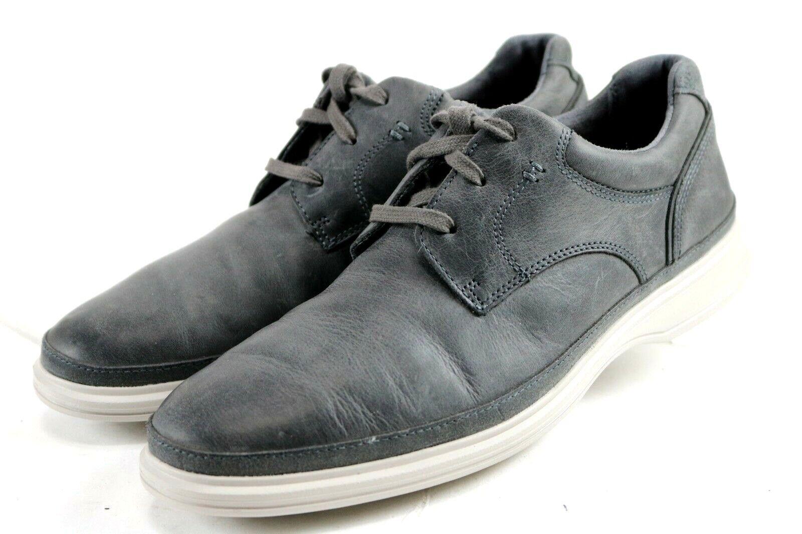 Rockport DresSports II Go Plain Toe  120 Men's Oxford shoes Size 7.5 Dark Grey