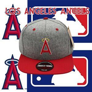 MLB-Los-Angeles-Angels-Red-Gray-Baseball-Snap-back-Adjustable-High-Quality-Hat