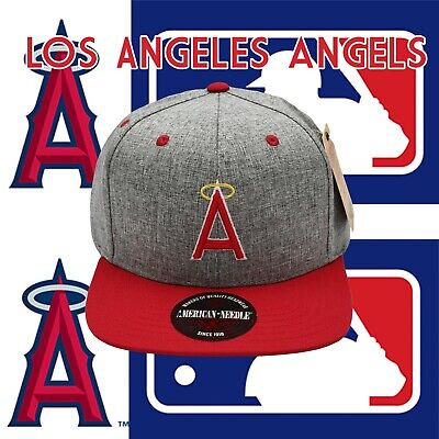cheap prices best cheap release date MLB Los Angeles Angels Red Gray Baseball Snap-back Adjustable High ...
