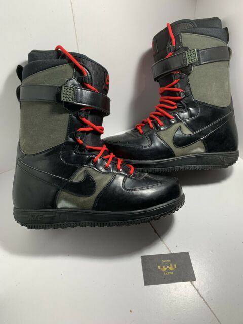 6d4267e983c Nike Zoom Force 1 ZF1 Snowboarding Boots 334841-302 Size 11.5 US Mens Black