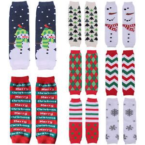 image is loading baby toddler christmas santa snowman arm leg warmers