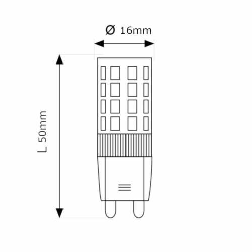 MAX-LED G9 LED Light Bulb SMD 3.5W Warm Neutral Cold White Lighting
