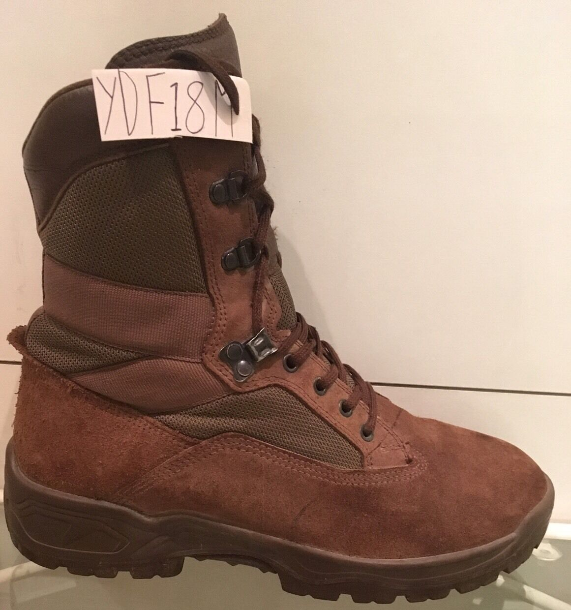 YDS Falcon Army Issue Brown Suede MTP YDF18M Male Combat/Assault Boots 8M YDF18M MTP e9732f