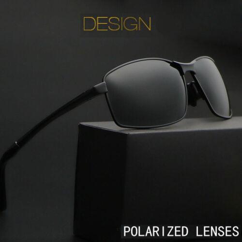 Men/'s Spring Hinge Aluminium Frame Polarized Sunglasses Driving Outdoor Fishing