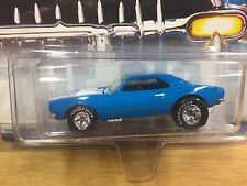 Hot Wheels 2002 Motor City Classics '67 Camaro SS Blue w/RR Real Riders