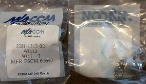 M-A-COM-Short-3201-1312-02-BNC-Plug-W-Chain