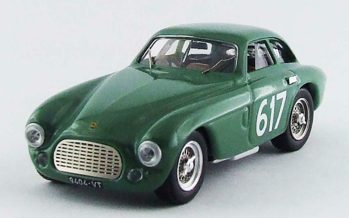 Ferrari 212 export Berlinetta Mille Miglia 1953 Plays donazzolo 324 art model