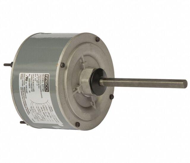 Ac Air Conditioner Condenser Fan Motor 1  4 Hp 1075 Rpm 230